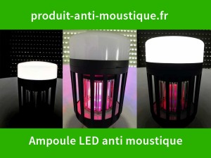 Test Ampoule LED anti moustique